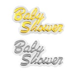 Mini Plastic Baby Shower Sign