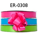 "3/8"" x 100 yards Single Face Satin Ribbon"