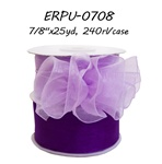 "7/8"" x 25 yards Organza Side-Pull Bow Ribbon"
