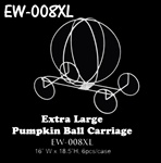 "18 1/2""H Wire Ball Carriage"