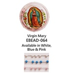 "20"" Scented Wood Rosary with Box - Virgin Mary"