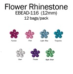 12mm Flower Rhinestone