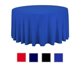 "Round Table Cover 120"" D - Colors"