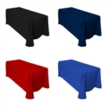"Rectangular Table Cover 90"" X 132""- Colors"