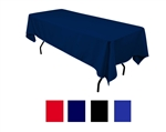 "Rectangular Table Cover 60"" X 126"" - Colors"