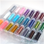 Assorted Glitter Pack- 24PCs