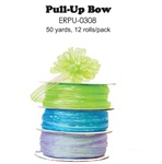 "3/8"" x 50 yards Center-Pull Bow Ribbon"