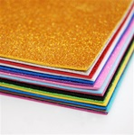 "12"" x 18"" x 2mm Glitter Foam Sheet"