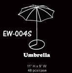 "11"" Wire Umbrella"